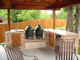 Spectacular Big Green Egg Outdoor Kitchen Ideas Top Design With Egghead Forum Throughout