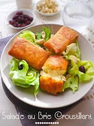 cuisine feuille de brick ma salade de bri brick croustillants de brie en feuille de brick