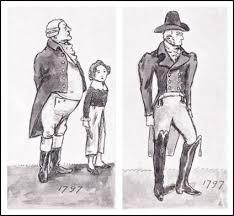 Drawings Of Georgian Mens Coats 19 20