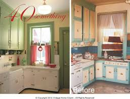 40 Something A 1940s Kitchen Make Over