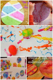 Easter Egg Art Projects For Kids To Make