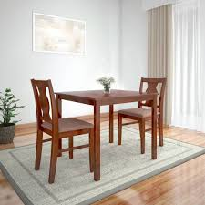 HomeTown Solid Wood 2 Seater Dining Set
