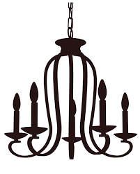 Drawn Chandelier Cartoon3282978