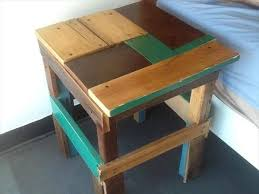 19 Best Pallet Stool Images On Pinterest