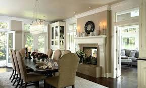 Living And Dining Room Tap The Thumbnail Bellow To See Related Gallery Of Double Sided Fireplace