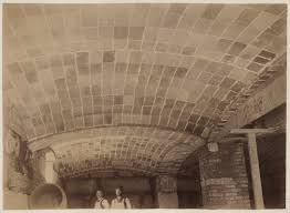 Construction Of Basement by Underside Of Guastavino Tile Arches Comprising Basement Ceiling