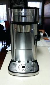Hamilton Beach One Cup Coffee Maker Single Serve Scoop 12