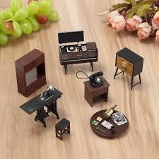 Amazoncom MagiDeal 2 Set European Mini 4Drawer Cabinet Dresser 1