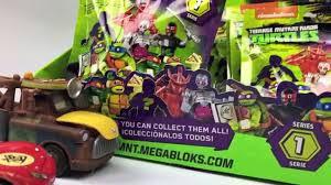 100 Teenage Mutant Ninja Turtle Monster Truck FULL Box UNBOXING 4 S Surprise Blind Bags