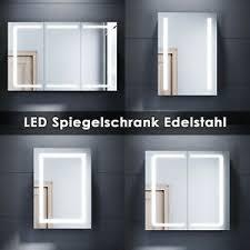 details zu spiegelschrank led beleuchtung badschrank badspiegel badezimmer 50cm 70cm 105cm