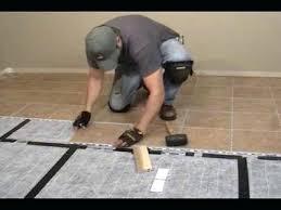 radiant floor tiles installing radiant heat ceramic tile