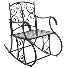 Black Metal Scrollwork Design Decorative Outdoor Patio / Garden / Deck  Rocking Chair 1960s Rocking Chair In Red Plastic Strings On Black Metal Frame Wicker Grey At Home Details About Lawn Rocker Patio Fniture Garden Front Porch Outdoor Fleur Chairs Coffee Table Mesh Rare Salterini Radar Wrought Iron Scrollwork Design Decorative Deck Monceau Chair For Outdoor Living Space Staton Amazonin Kitchen Amazoncom Mygift Dark Brown Woven Metal Patio Rocking Chairs Carinsuncerateszipco Hampton Bay Wood