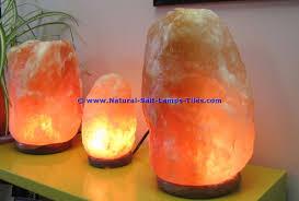 Large Pyramid Salt Lamp by Large Natural Himalayan Rock Salt Lamp 20 25 Kg On Wooden Base