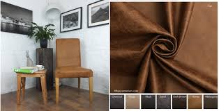ikea henriksdal dining chair cover in distressed leather look
