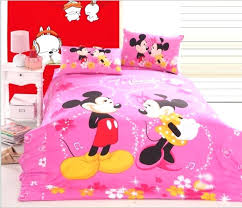 Minnie Mouse Twin Bedding by Sweetlooking Minnie Mouse Bedroom Set Full Size Mouse Room Decor