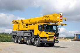 LTF 1060-4.1 Truck Mounted Telescopic Crane - Liebherr
