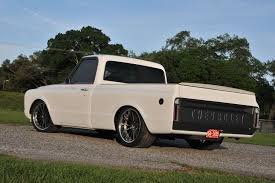 Tom Argue Design 1968 Chevy C10 On Forgeline MS3C Wheels 1968 Chevy Shortbed Pickup C10 Pick Up Truck 454 700r4 4 Speed Auto Lowered Chevy 50th Anniversary Pickup Muscle Truck Like Gmc Hot Rod Spuds Garage Short Bed Restomod For Sale Patina Trick N Rod Chevrolet Stepside Fully Restored Clean Az For 1967 1969 C K 1970 1971 1972 Trucksncars C50 Dump Truck Has Remained In The Family Classic Work Smart And Let The Aftermarket Simplify