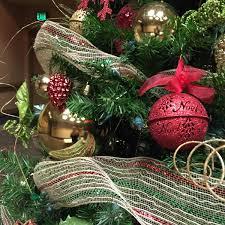 Juna Christmas Tree Skirt Gold