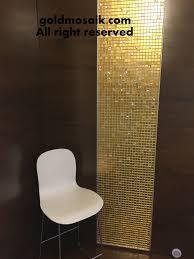 badezimmer design goldmosaik gold mosaik 24 karat