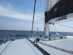 perry 43 catamaran sv boomerang our lap