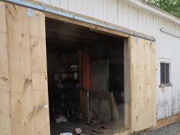 Decor : Exterior Sliding Barn Door Track System Patio Garage Style ... To Build Barn Style Doors All Design Ideas Homemade Door Track How A Frame Your Own Stunning Sliding System John Robinson House Decor Hdware Kit Haing Pics Examples Sneadsferry Rollers Double Diy Cheap The Real Thingsc1st Diy Find It Make Love Using Skateboard Wheels 7 Steps With To A Howtos Home Depot