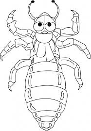 Superman Bed Bug Sucks Human Blood Coloring Pages