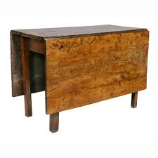 Drop Leaf Table Antique Side Walnut Small Kitchen Value ...
