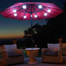 Treasure Garden Patio Umbrella Light by Treasure Garden Vega L Patio Umbrella Light Hayneedle Inspiring