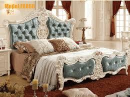 style chambre coucher style français blanc bois massif chêne meubles de chambre à coucher
