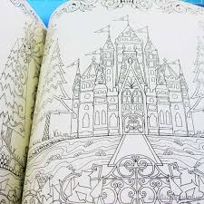 Coloring Books For Embroidery Designs Its An Enchanted Forest