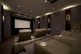 lights some wall light home theater ideas basement brown