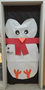 Winter Themed Classroom Door Decorations by Creative Elementary Counselor Winter Door Decorations