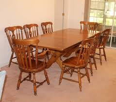 Lot#2 Vintage Heywood Wakefield Maple Dining Table W/ 3 ... Maple And Black Kitchen Sets Edina Design Formal Ding Room Fniture Ethan Allen Solid Maple Ding Table With 6 Chairs And 2 Leaves 225 Bismarck Nd Uhuru Colctibles 1950s Table W Baytown Asbury 60 Round 90 Off Custom Made Tables Home Decor Amusing Chairs Inspiration Saber Drop Leaf Chair Set By Lj Gascho At Morris Christy Shown In Grey Elm Brown A Twotone Michaels Cherry Onyx Finish Includes 1 18 Leaf Kalamazoo Dinner Vintage W2 Leaves Hitchcock Corner Woodworks Vermont