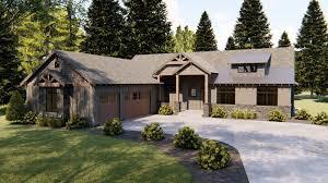 100 Rustic House 1 Story Mountain Plan Ozark