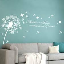 wandtattoo wandsticker wandaufkleber wohnzimmer pusteblume