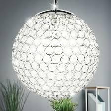 deckenle kristall tröpfchen hängeleuchte kugel design