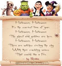 Poems About Halloween That Rhymes by Trick Or Treat Rhymes For Adults Otherssilly Ga