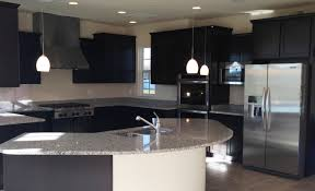 White Cabinets Dark Grey Countertops by Black Kitchen Cabinets White Subway Tile U2014 Smith Design How To