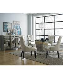 Macys Glass Dining Room Table by Mirrored Furniture Macy U0027s