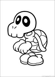 Super Mario Bros Coloring Pages 12