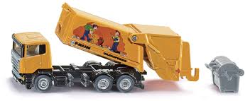 100 Rubbish Truck Siku 187 Scania With Skip Bin Toy At Mighty Ape NZ