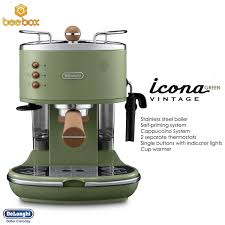 NEW Delonghi Vintage Espresso Coffee Maker ECOV311GR GREEN