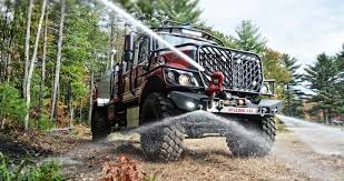 Bulldog 4x4 Extreme Is The Off-Road Fire Truck Of Our Dreams - The Drive Rare Low Mileage Intertional Mxt 4x4 Truck For Sale 95 Octane Shaquille Oneal Buys A Massive F650 Pickup As His Daily Driver In Photos Trucks And 4x4s Run Bigger Meaner At Sema 2017 Extreme Mud Offroad Action In Wild Bog Youtube Off Road Compilation Suv Funny Mudding Video Dailymotion Mercedes Trucks Suv Concept Wallpaper 2048x1536 46663 Ike Gauntlet 2014 Chevrolet Silverado Crew Towing Tatra 815 Wikipedia Get Extreme Get Dirty Out There The Toyota Tacoma Trd Nine Of The Most Impressive Offroad Suvs