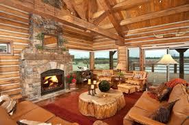 canapé cuir et bois rustique 1001 conseils et idées pour aménager un salon rustique