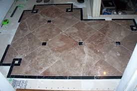 Small Foyer Tile Ideas by Old Victorian House
