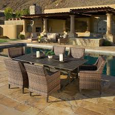 7 Piece Patio Dining Set Canada by Beaumont 7 Piece Sling Dining Set