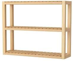 ikea molger wall shelf solid birch co uk kitchen home