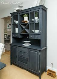 Painted Buffet Hutch 92 How To Paint Dining Room With