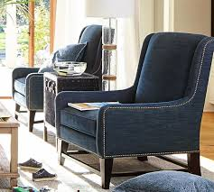 Pottery Barn Seagrass Club Chair by Berkeley Upholstered Armchair Pottery Barn