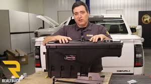 How To Install UnderCover Swing Case Truck Bed Tool Box - YouTube